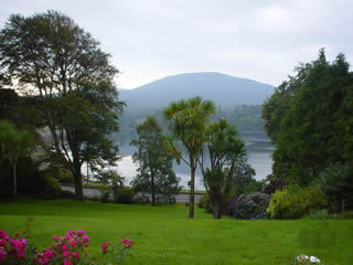 View from Kenmare B&B, County Kerry, Ireland  - Photo credit Sean Collins 2002
